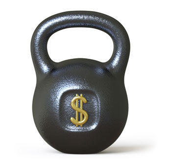dollar dumbell weight mining