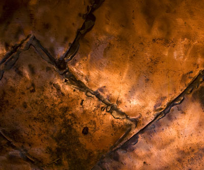 copper plate background mining
