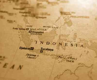 indonesia old map