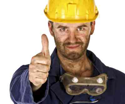 thumbs up miner