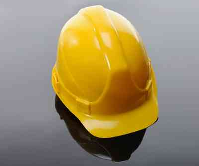 Yellow hardhat mining