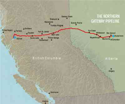 Enbridge's Northern Gateway pipeline