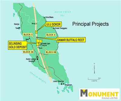 Monument Earns 15m Gross Revenues With Malaysia Gold Pour Mining Com