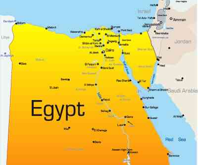 Egypts Gold Miners Stage Sitin Protest Layoffs Demand - Map of egypt eastern desert