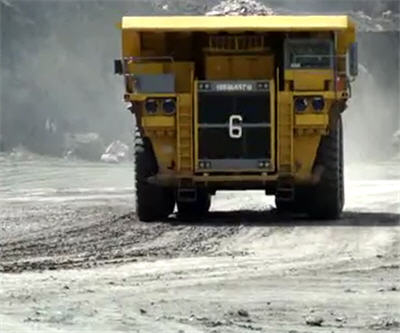 Mining Truck - Goldcorp Announces Secondary Offering of Shares of Tahoe Resources
