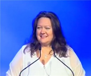 Australian billionaires no match for Gina Rinehart