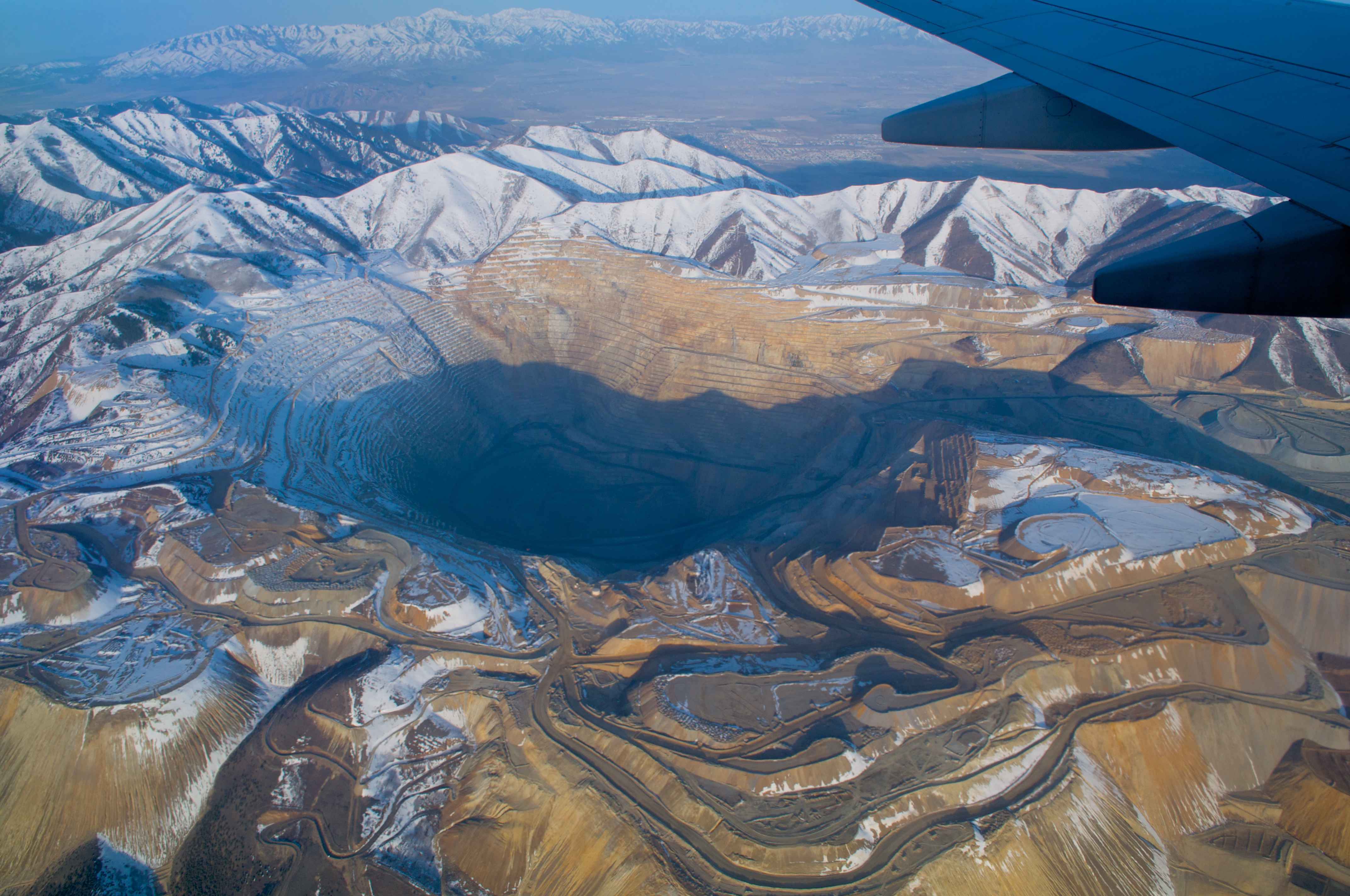 Image result for Bingham Canyon Mine, US