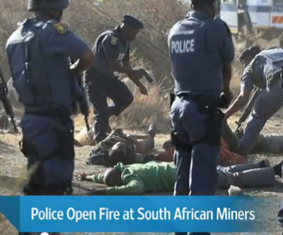 Fresh wave of violence strikes South African mines: eight dead