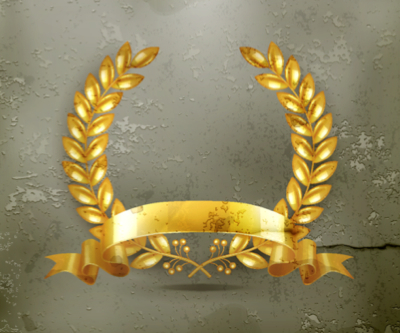 gold wreath 333