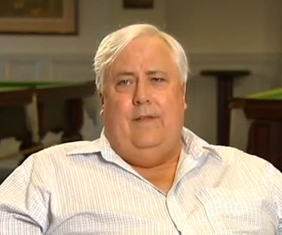 Aussie billionaire Clive Palmer's massive coal mine approved