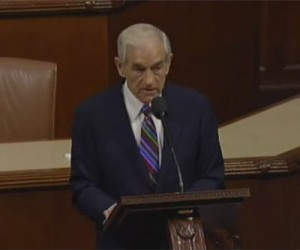 ron paul farewell congress