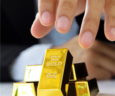 Barrick gold bar