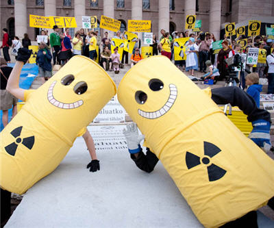 nuclear protesters