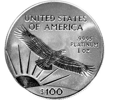 platinum coin american eagle