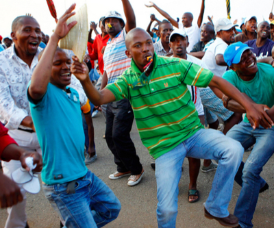Most South African gold miners return to work