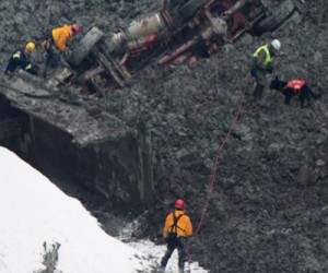 Search for missing workers in Quebec quarry continues