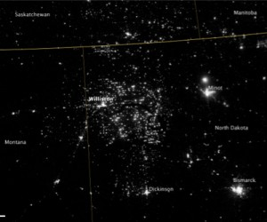 What shale boom looks like from space and why we should care