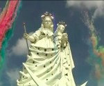 Bolivian mining town erects giant Virgin statue that rivals Rio's Christ