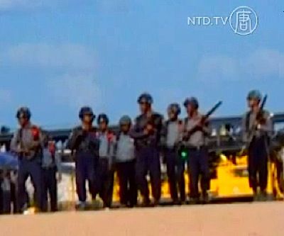 Myanmar: No incendiary weapons used on copper mine protest crackdown