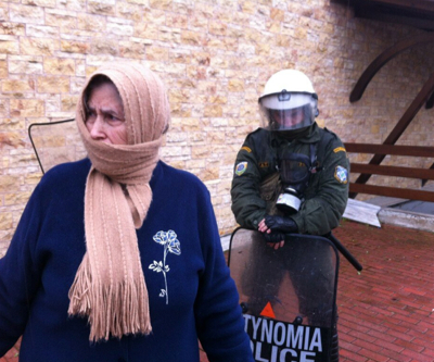 Greek police used excessive violence and tear gas against anti-mining protesters