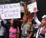 Peruvians asks Washington-based human rights commission to halt Newmont's Conga project