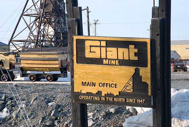 Giant Mine, Northwest Territories