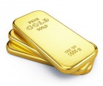 Gold ingot bars