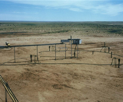 Uranium in-situ leaching field test in Mongolia