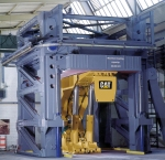 Roof support test at Caterpillar
