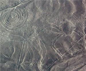 nazca lines destroyed by heavy machinery three