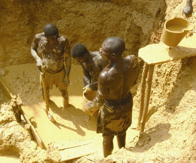 Ghana's crackdown on illegal mining