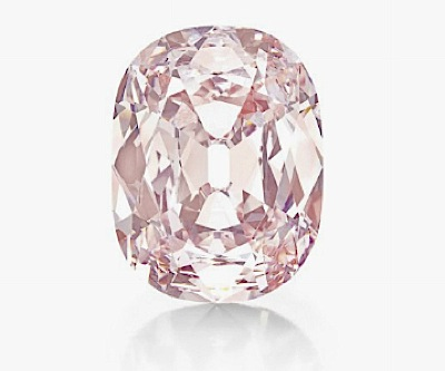 Unique pink diamond fetches almost $40 million in NYC