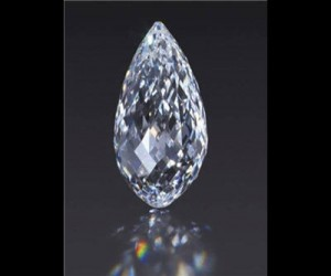 Briolette diamond