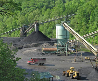 Kentucky coal mine