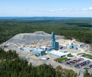 Lapa mine, Quebec