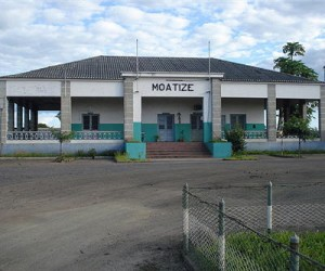 Moatize train station