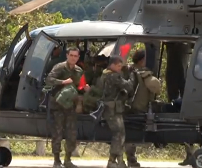 Brazil mulls sending more troops to stop illegal gold mining