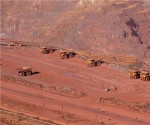 Traders catch iron ore price fall