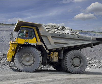 Coal on dump truck avino silver and gold