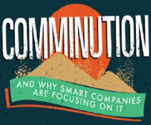 Comminution infographic