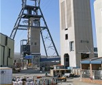 Mine shaft in South Africa