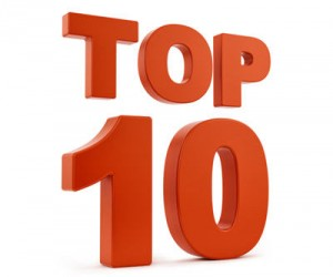Top 10 red
