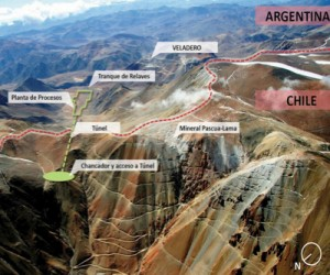 Chile's official commission suggests letting Barrick keep permit for Pascua Lama