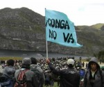 Thousands of Peruvians camp in the Andes to defend lake from Newmont's gold project