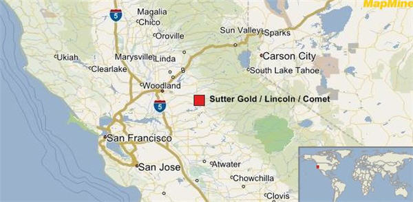 Sutter gold mine