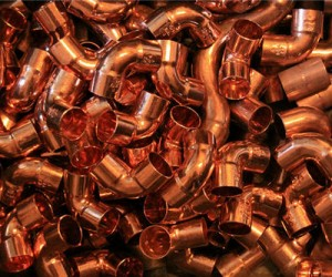 Copper hits three-week high on China data