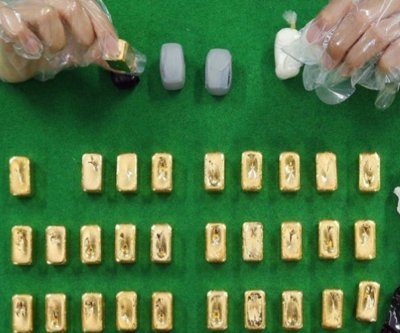 Taiwanese band caught smuggling $3m worth of gold into S.Korea