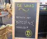 Bitcoin accepted at German cafe