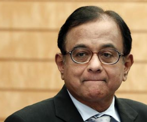 P. Chidambaram, India's finance mininster