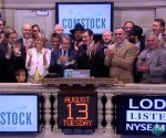 comstock mining rining NYSE bell